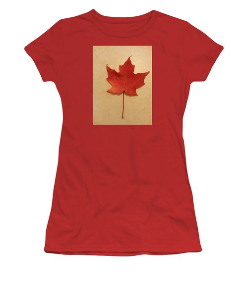 The Maple Leaf Forever Women's T-Shirt (Athletic Fit)