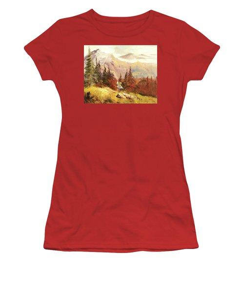 The Scout Women's T-Shirt (Junior Cut) by Alan Lakin