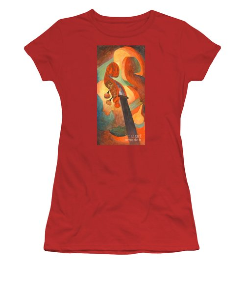 The Scroll Women's T-Shirt (Athletic Fit)