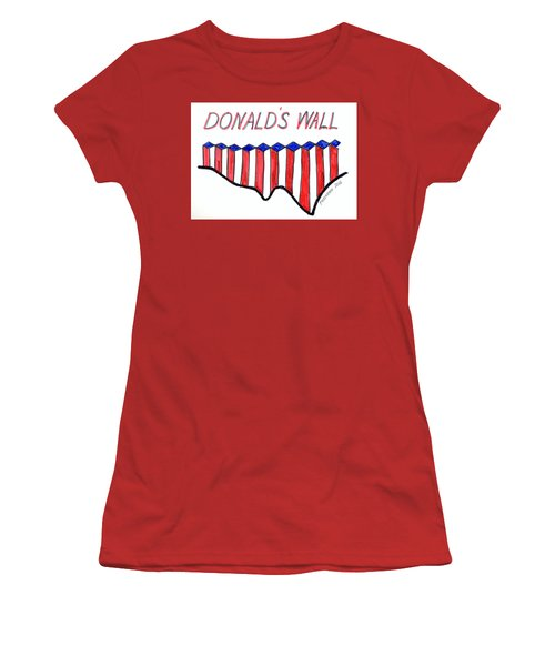 The Trump Women's T-Shirt (Junior Cut) by Paul Meinerth
