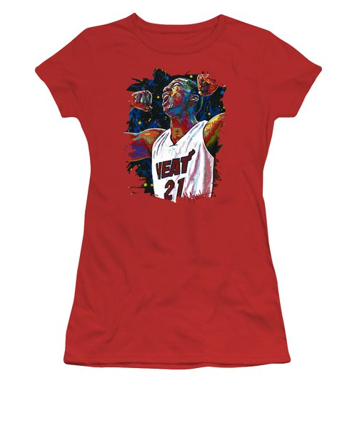 The Whiteside Flex Women's T-Shirt (Junior Cut) by Maria Arango