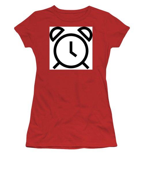 Tick Talk Women's T-Shirt (Athletic Fit)