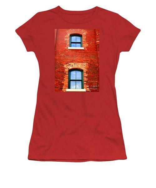 Toronto Windows Women's T-Shirt (Junior Cut) by Randall Weidner