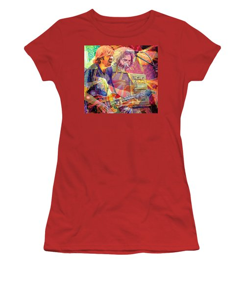 Trey Channeling Cosmic Jerry Women's T-Shirt (Athletic Fit)