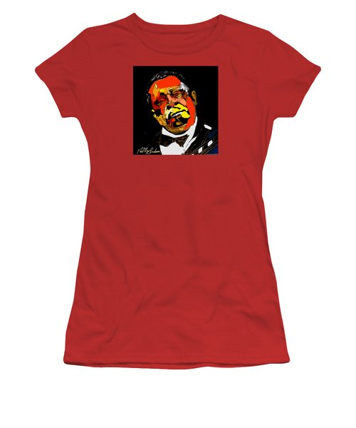tribute to BB King reworked Women's T-Shirt (Athletic Fit)