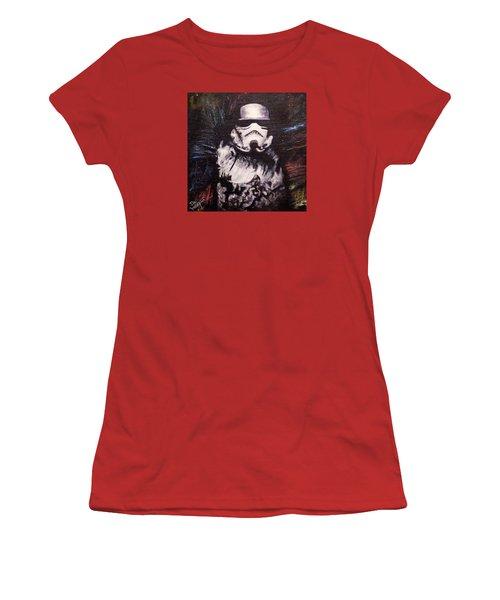 Trooper  Women's T-Shirt (Junior Cut) by Dan Wagner