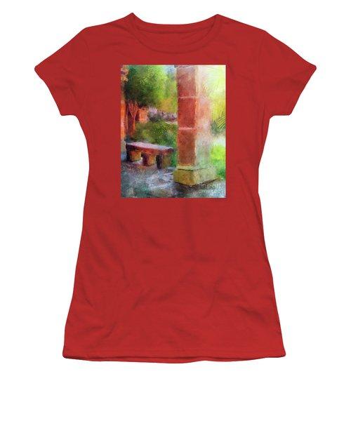 Tropical Memories Women's T-Shirt (Junior Cut) by Lois Bryan
