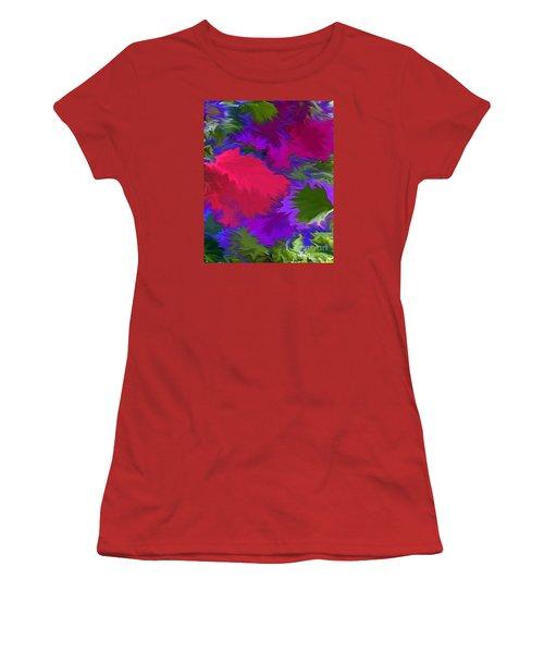 Women's T-Shirt (Junior Cut) featuring the photograph Tropicana by Patricia Griffin Brett