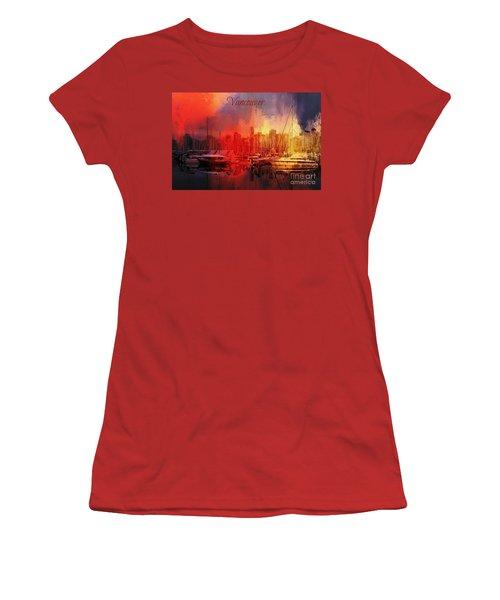 Vancouver Women's T-Shirt (Junior Cut) by Eva Lechner