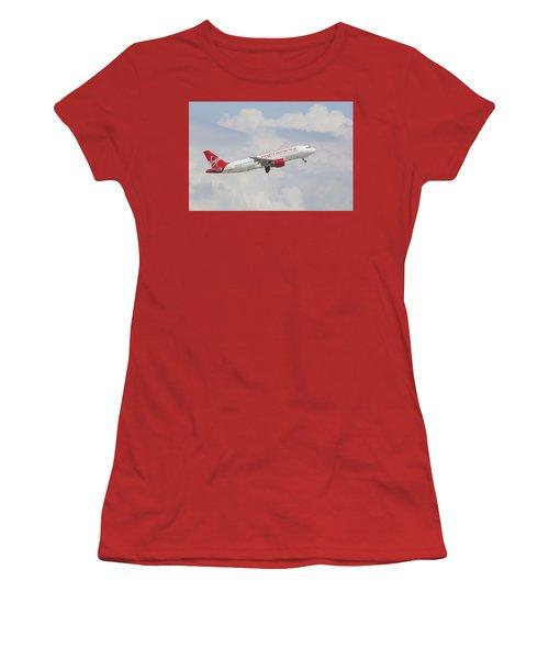 Virgin America Women's T-Shirt (Athletic Fit)