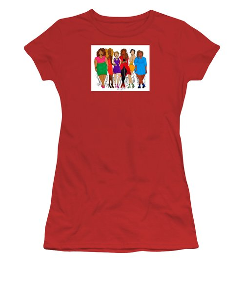 We Are Women's T-Shirt (Junior Cut) by Diamin Nicole