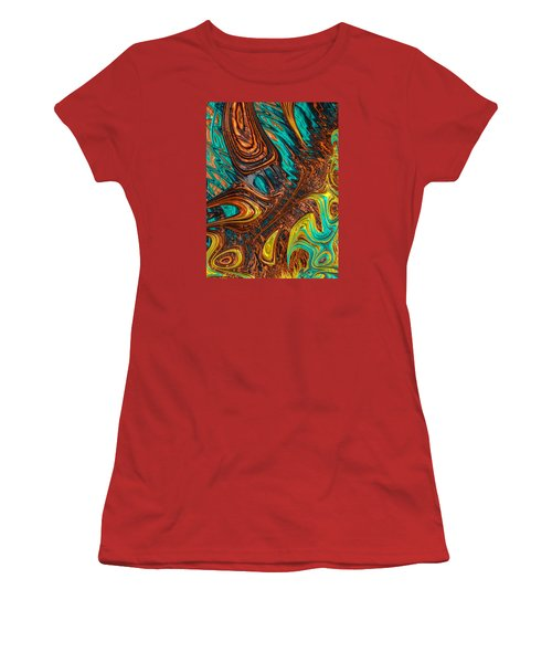 Where Liquid Copper And Water Meet Women's T-Shirt (Athletic Fit)