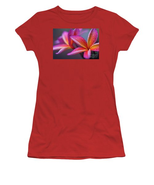 Women's T-Shirt (Junior Cut) featuring the photograph Windows Into Nature by Sharon Mau