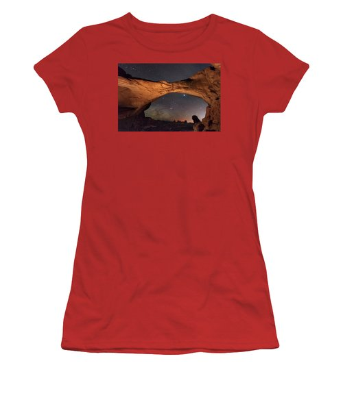 Windows To Heaven Women's T-Shirt (Athletic Fit)
