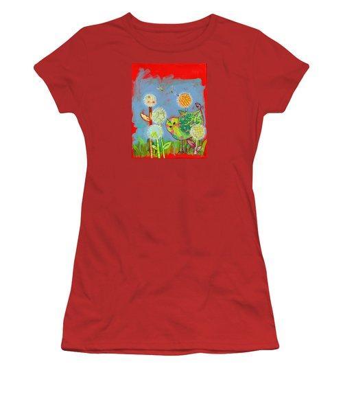 Wishful Thinking Birdy Women's T-Shirt (Athletic Fit)