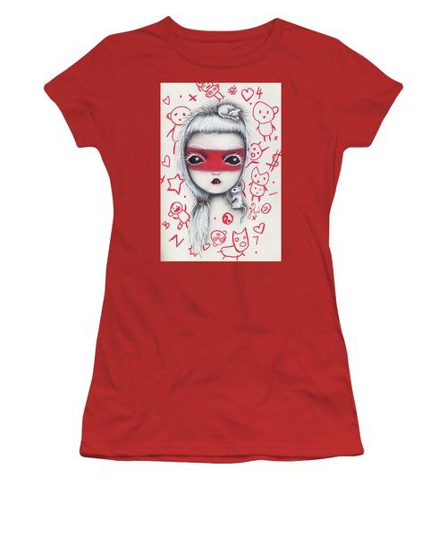 Yo  Women's T-Shirt (Junior Cut) by Abril Andrade Griffith