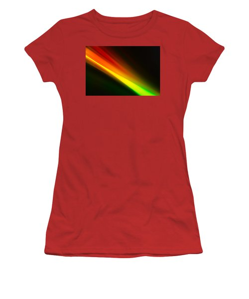 Women's T-Shirt (Athletic Fit) featuring the photograph Zooming by Greg Collins