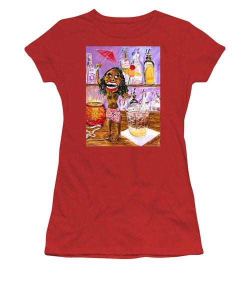 Zuni Mai Tai Women's T-Shirt (Athletic Fit)