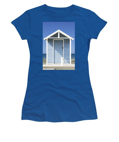 Beach Hut Women's T-Shirt (Athletic Fit)