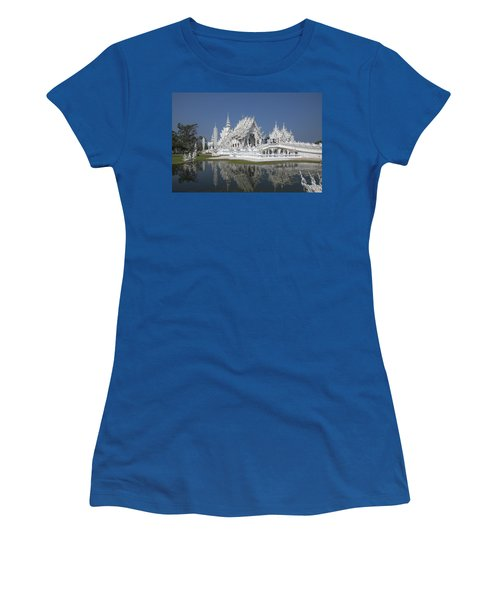 Wat Rong Khun Ubosot Dthcr0002 Women's T-Shirt