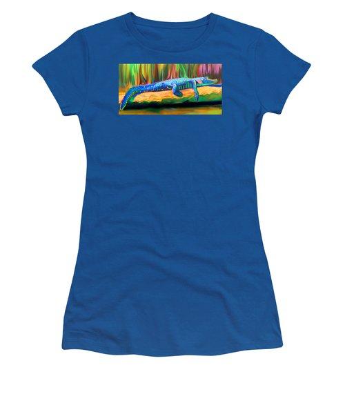 Blue Alligator Women's T-Shirt