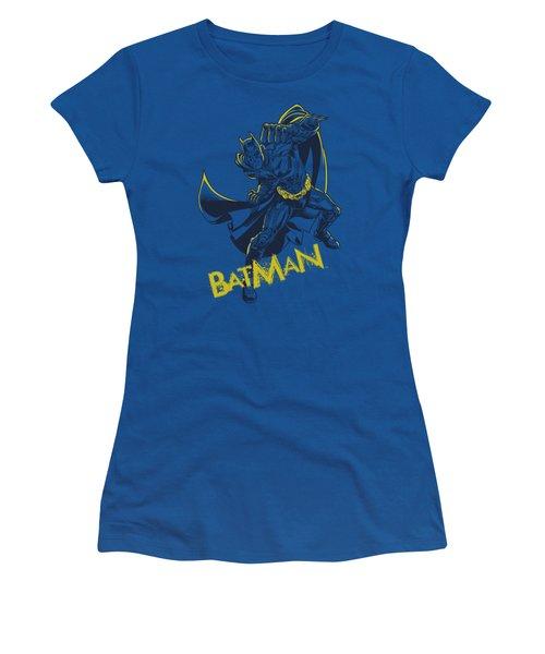 Dark Knight Rises - Left Hook Women's T-Shirt (Athletic Fit)