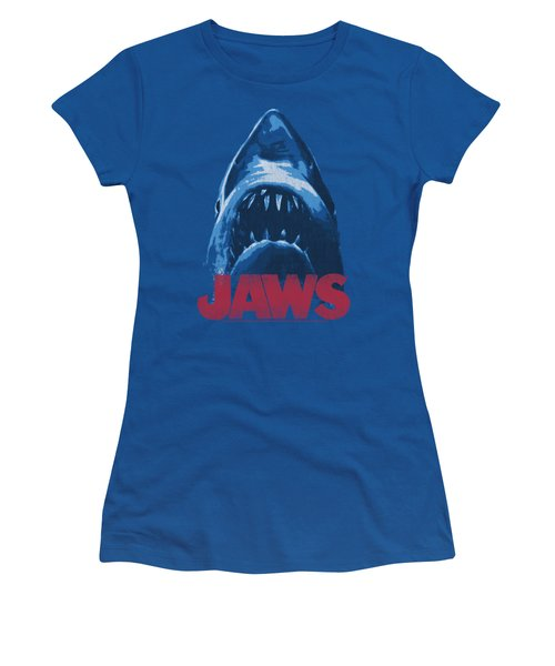 Jaws - From Below Women's T-Shirt (Athletic Fit)