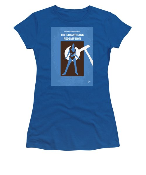 No246 My The Shawshank Redemption Minimal Movie Poster Women's T-Shirt