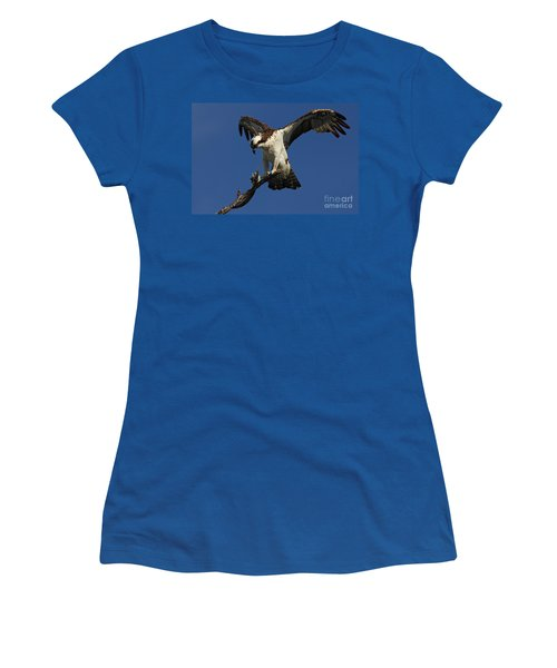Osprey With A Fish Photo Women's T-Shirt