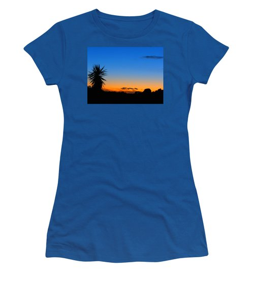 Sunset In The Desert Women's T-Shirt (Athletic Fit)