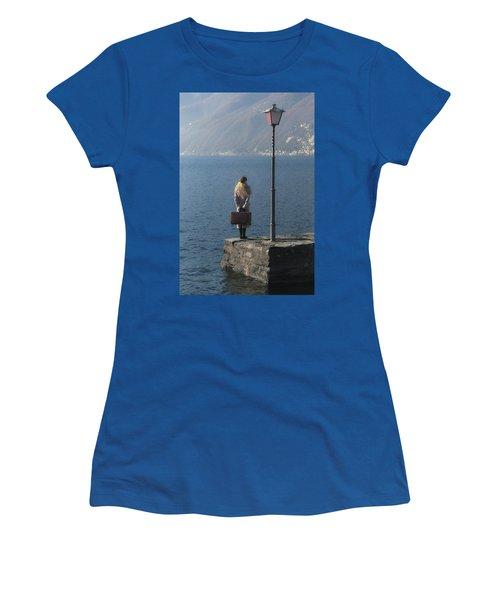 Woman On Jetty Women's T-Shirt