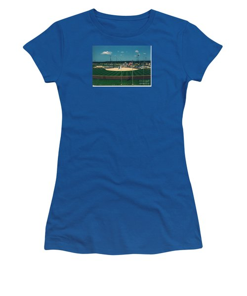 Baseball Diamond Women's T-Shirt (Athletic Fit)