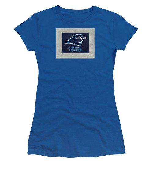Panthers  Women's T-Shirt (Junior Cut) by Herb Strobino
