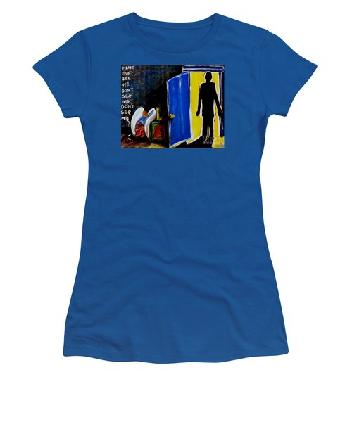Don't See Me Women's T-Shirt (Athletic Fit)