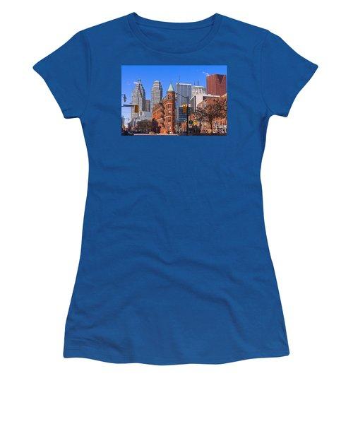 Flatiron Building In Toronto Women's T-Shirt