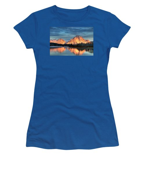 Mount Moran Women's T-Shirt (Athletic Fit)