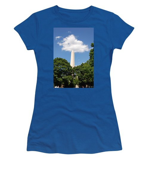 Obelisk Rises Into The Clouds Women's T-Shirt