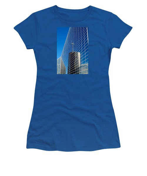 Women's T-Shirt (Junior Cut) featuring the photograph The Crystal Cathedral by Duncan Selby