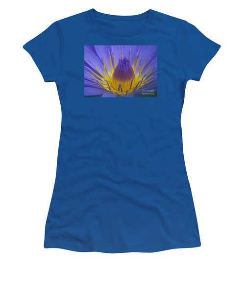 Tropic Water Lily 16 Women's T-Shirt (Junior Cut) by Rudi Prott