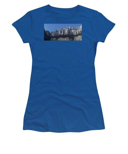 Tsingy De Bemaraha Madagascar Women's T-Shirt (Junior Cut) by Rudi Prott