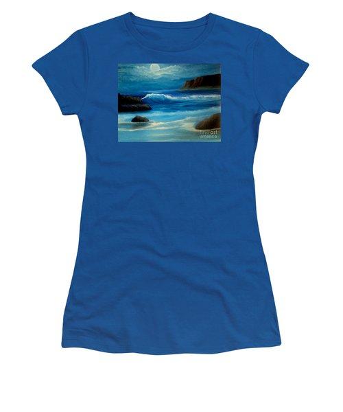Illuminated Women's T-Shirt (Junior Cut) by Holly Martinson