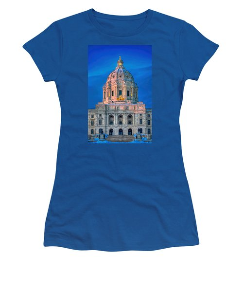 Minnesota State Capitol St Paul Women's T-Shirt (Athletic Fit)