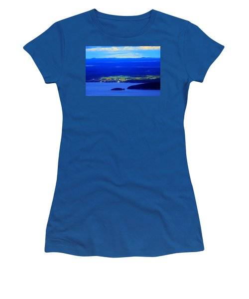 Bird's-eye View From Cadillac Mountain Acadia National Park Women's T-Shirt