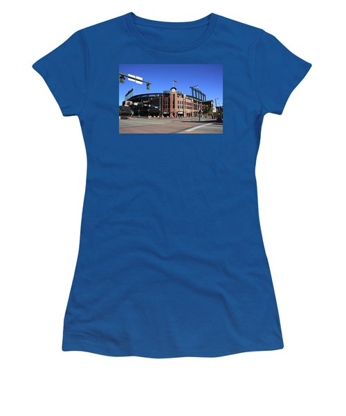 Coors Field - Colorado Rockies Women's T-Shirt