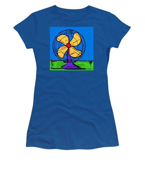 A Fan Of Color Women's T-Shirt