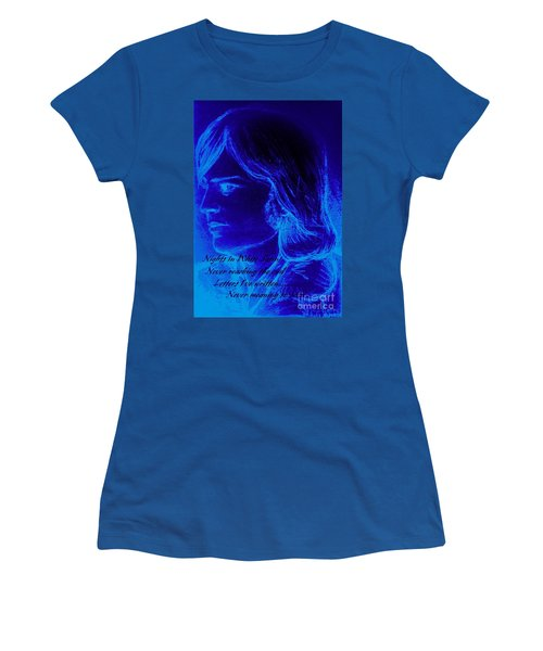 A Moody Blue Women's T-Shirt (Athletic Fit)