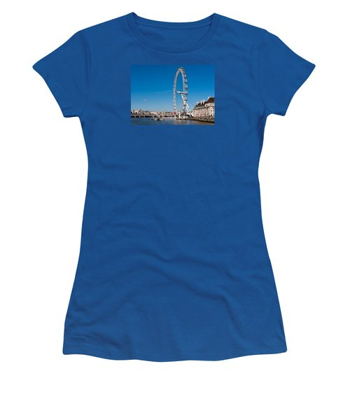A View Of The London Eye Women's T-Shirt (Athletic Fit)