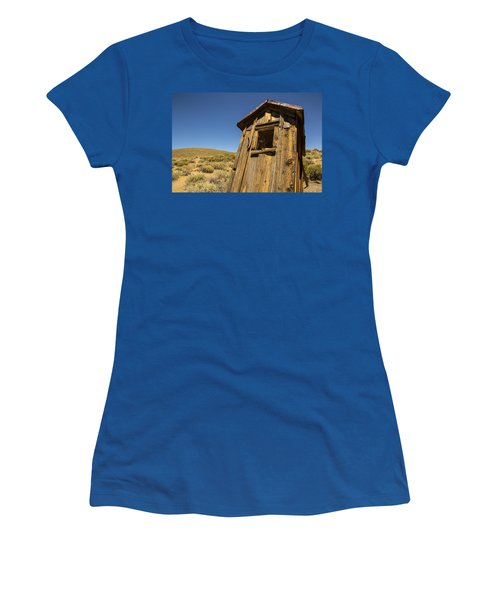 Abandoned Outhouse Women's T-Shirt