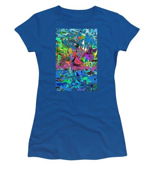 Abstract 011515 Women's T-Shirt (Junior Cut) by David Lane