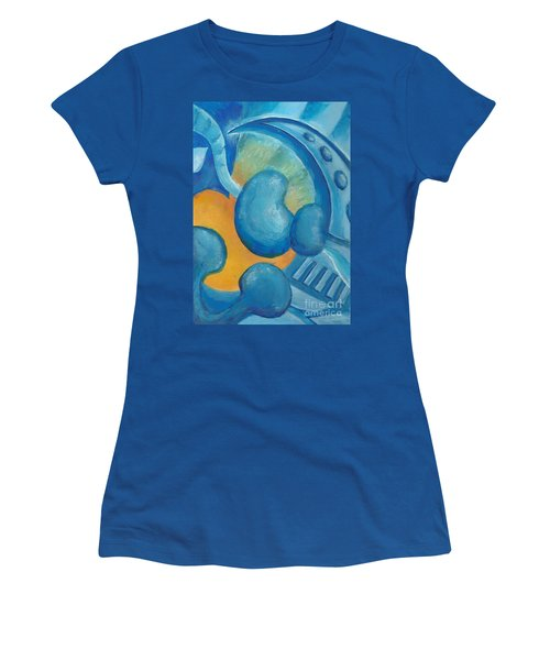 Abstract Color Study Women's T-Shirt (Athletic Fit)